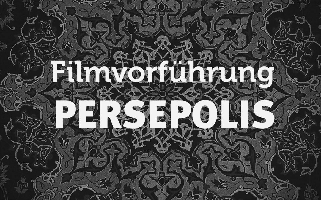 Filmvorführung - Persepolis (95 Min., FSK 12)