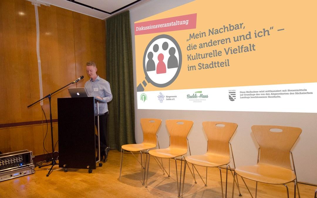 Gelungene Diskussionsveranstaltung über kulturelle Vielfalt im Stadtteil
