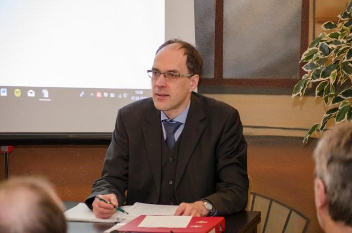 Vorstandsvorsitzender Matthias Reichmuth; Foto: Andreas Reichelt