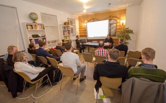 Mitgliederversammlung des Bürgervereins Gohlis e. V. am 7. März 2018; Foto: Andreas Reichelt