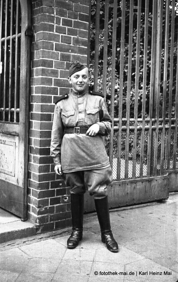 1946 Leipzig, Turmgutsr. Sowjetischer Soldat an Sowjetische Handelsmission