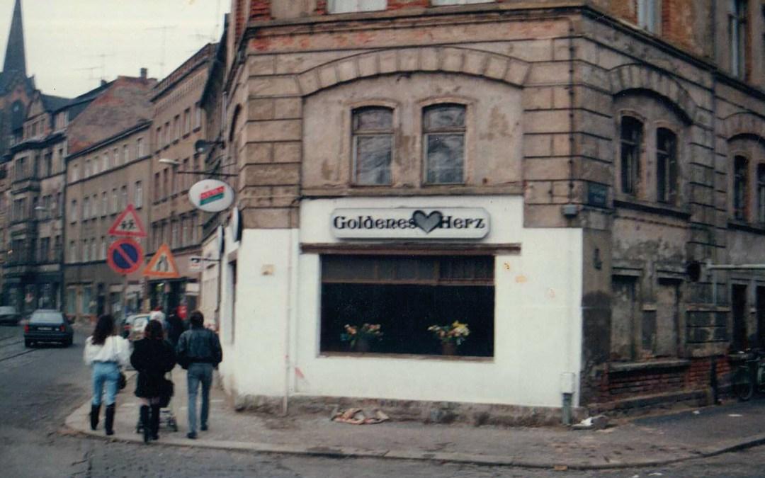 """Das """"Goldene Herz"""" 1991, Foto:Archiv Meigl Hoffmann"""