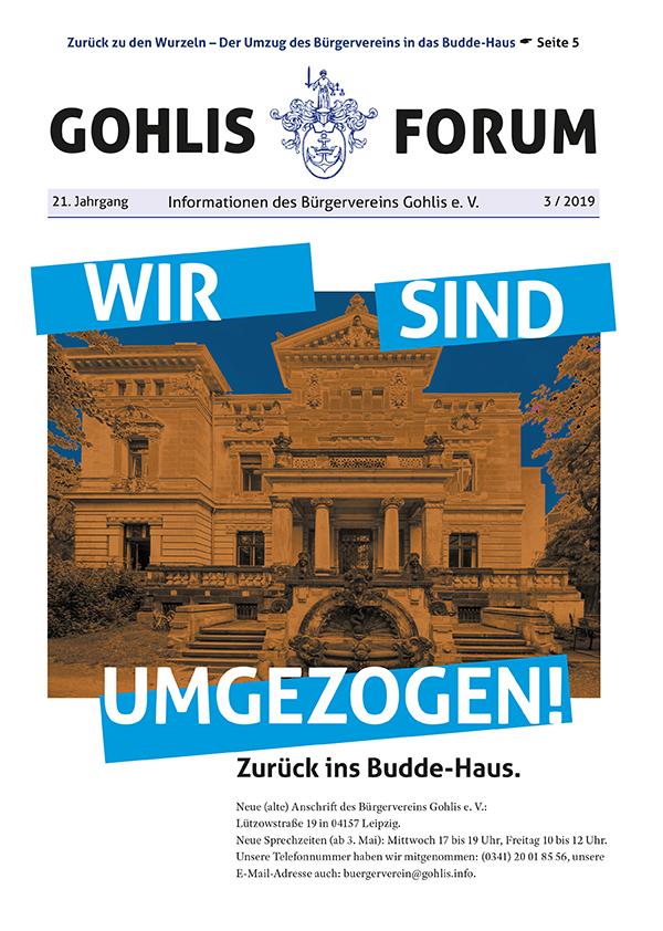 Gohlis Forum 03/2019