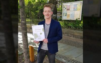 Bürgerverein Gohlis spendet Baumpatenschaft