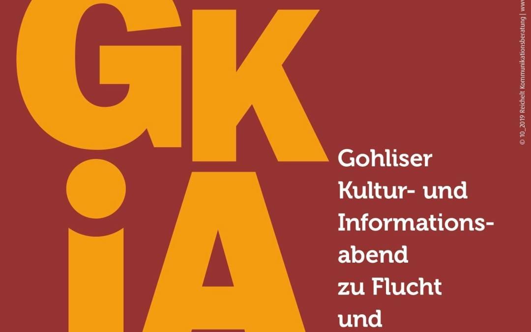 Gohliser Kultur- und Informationsabend zu Flucht und Engagement
