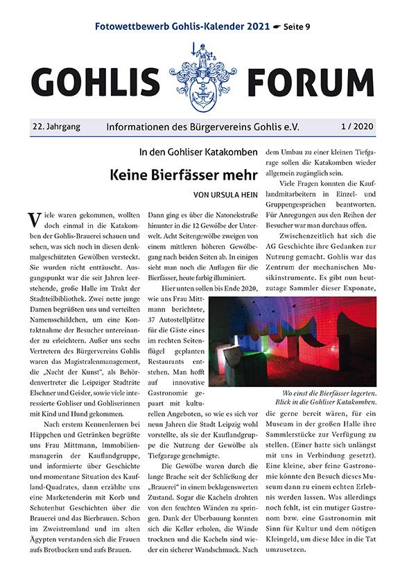 Gohlis Forum 01/2020