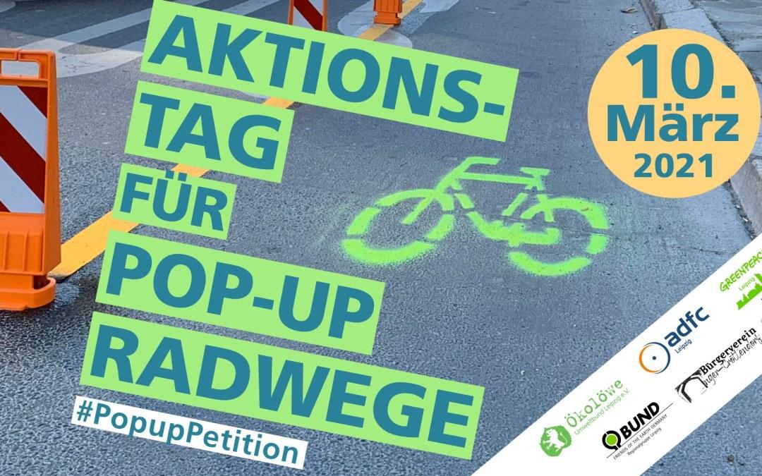 Aktionstag für Pop-up Radwege