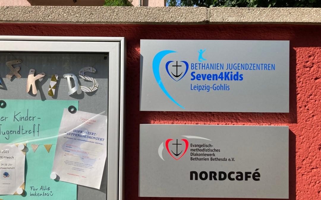 Herzlich willkommen im Nordcafé – Raum für Begegnung, Gespräch, Unterstützung wöchentlich dienstags 16 – 18 Uhr