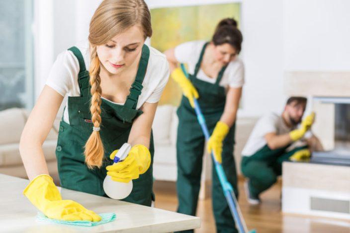 gadis cleaning service cantik