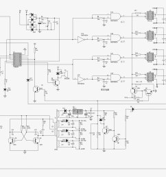 1000w power inverter spwm driven circuit diagram [ 2768 x 1519 Pixel ]