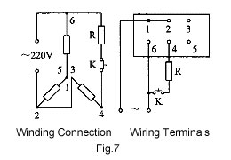 Increase torque for three phase motor running on single phase power