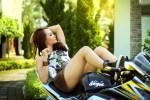 conforto ar condicionado em motos