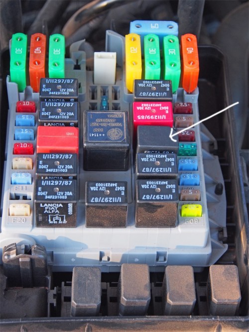 small resolution of iveco relay box