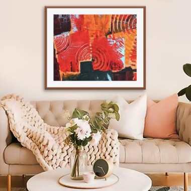 5 Creative Ways To Show Off Wall Art Paintings In Your House!
