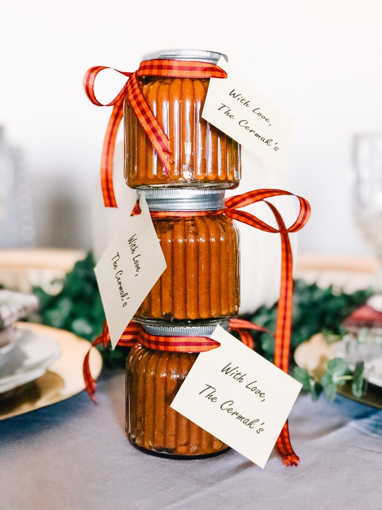 Crock Pot Pumpkin Butter & Thanksgiving Hostess Gifts Under $20