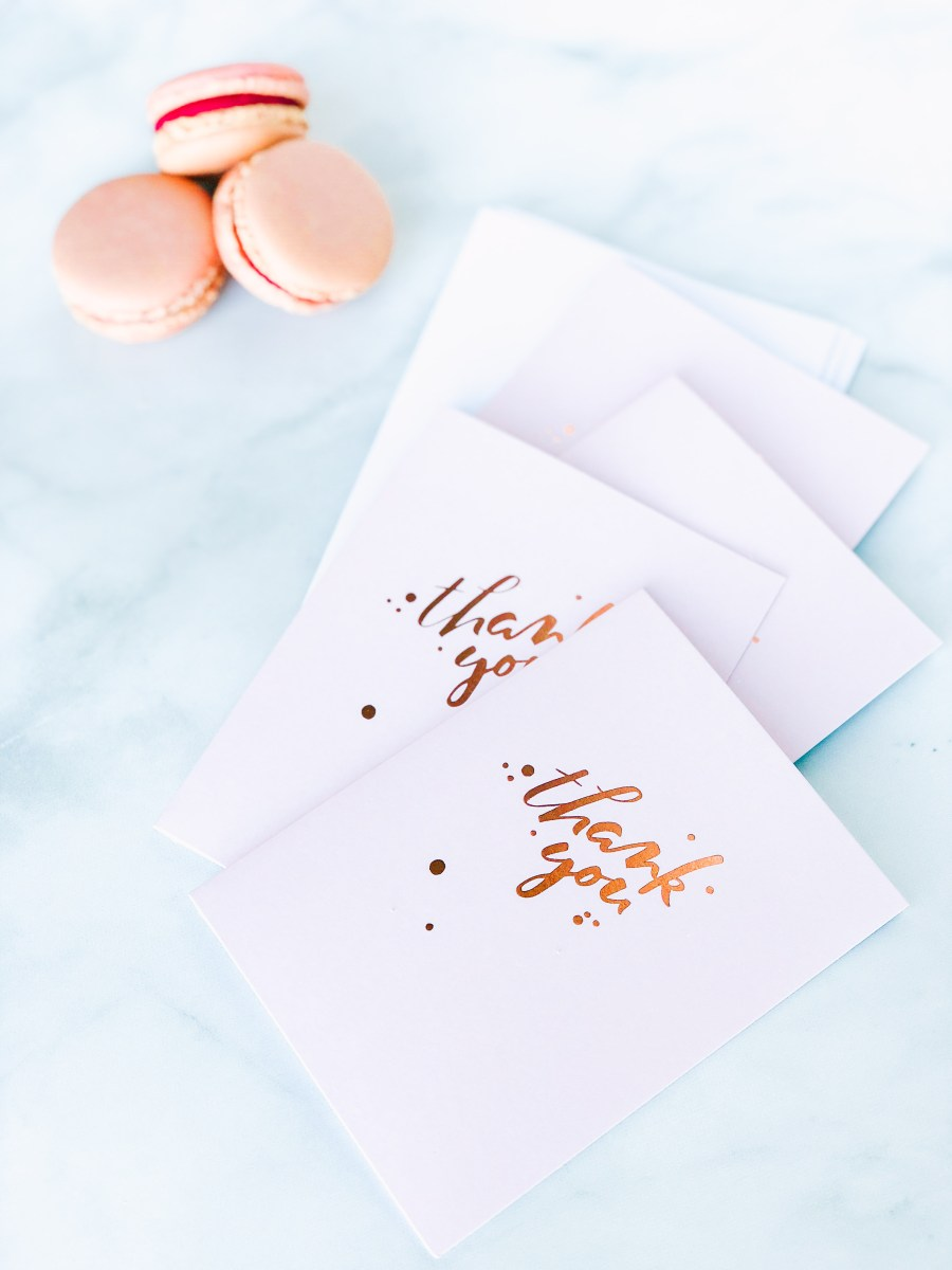The Art of the Thank You Note