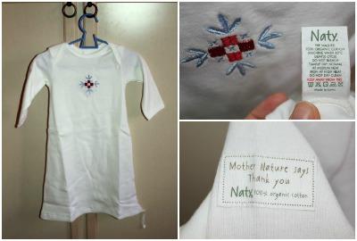 camicia notte cotone biologico naty