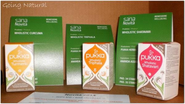 Sana 2014 novità integratori Pukka Herbs