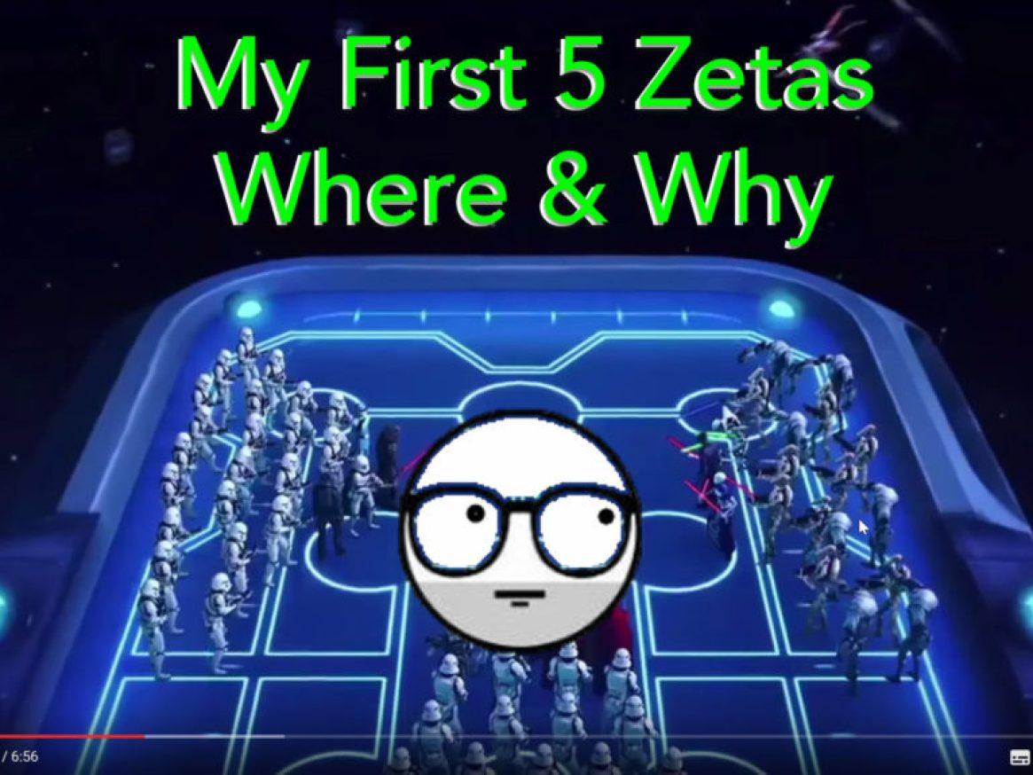My first 5 zetas Abilities
