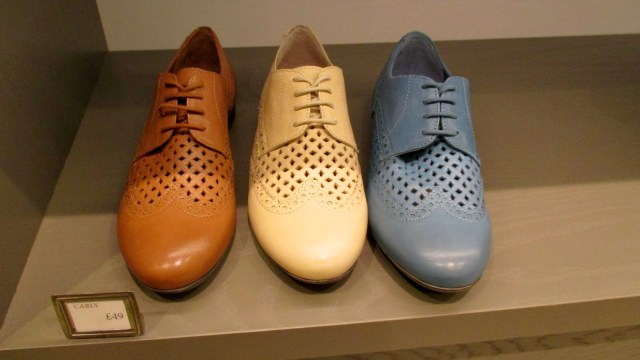 Hotter shoes - summer brogues