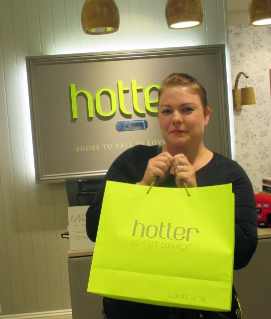 Happy shopping with Hotter shoes in Bury