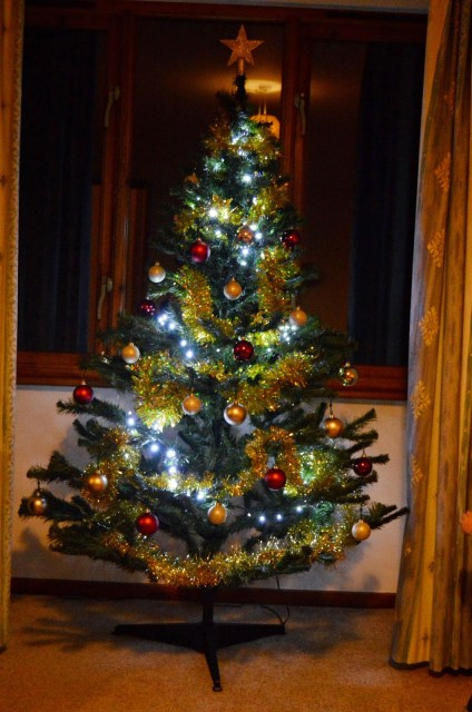 Coed Gelert Holiday Cottages - Christmas tree
