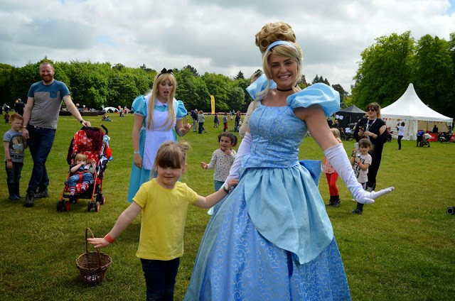 Chlo and Cinderella at Geronimo Festival