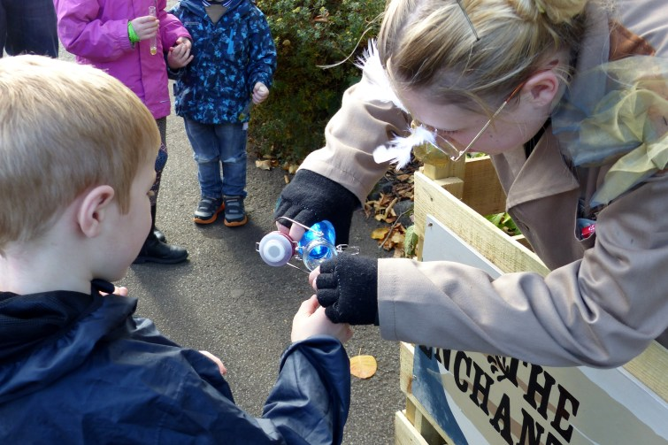 The Enchantment of Chester Zoo - collecting blue magic potion