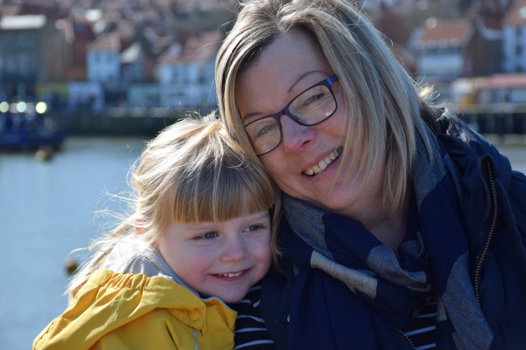 Granny & Amy in Whitby