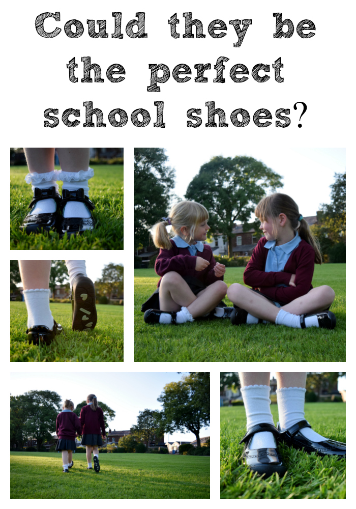 Start-rite school shoes - black patent with scuff proof toe bumpers.