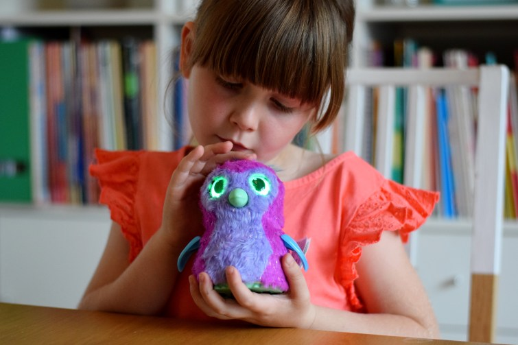 Raise your Hatchimal through three different life stages