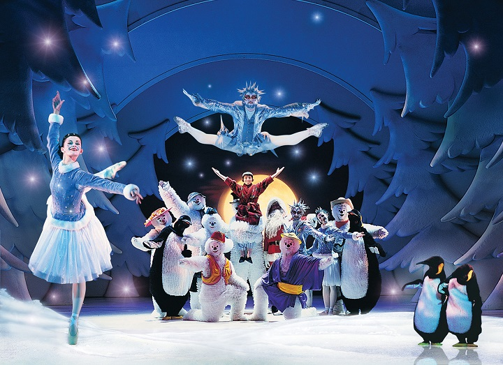 The Snowman live on stage