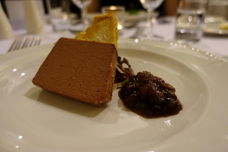Pate starter - The Majestic Hotel, Harrogate