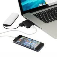 HUB USB Plegable Colores para Ordenador