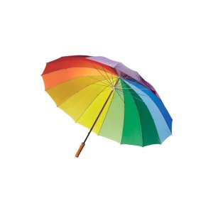 Paraguas rainbow