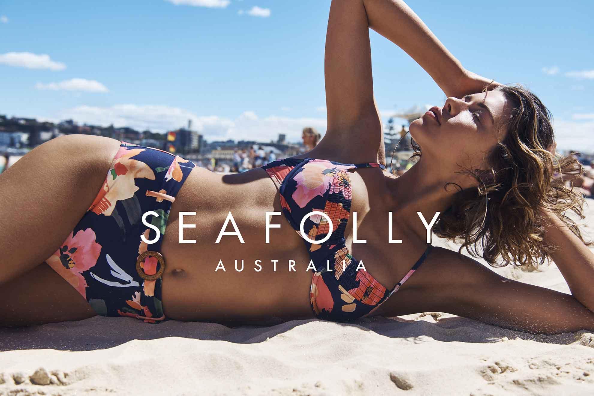 Seafolly 2021 bikini flores