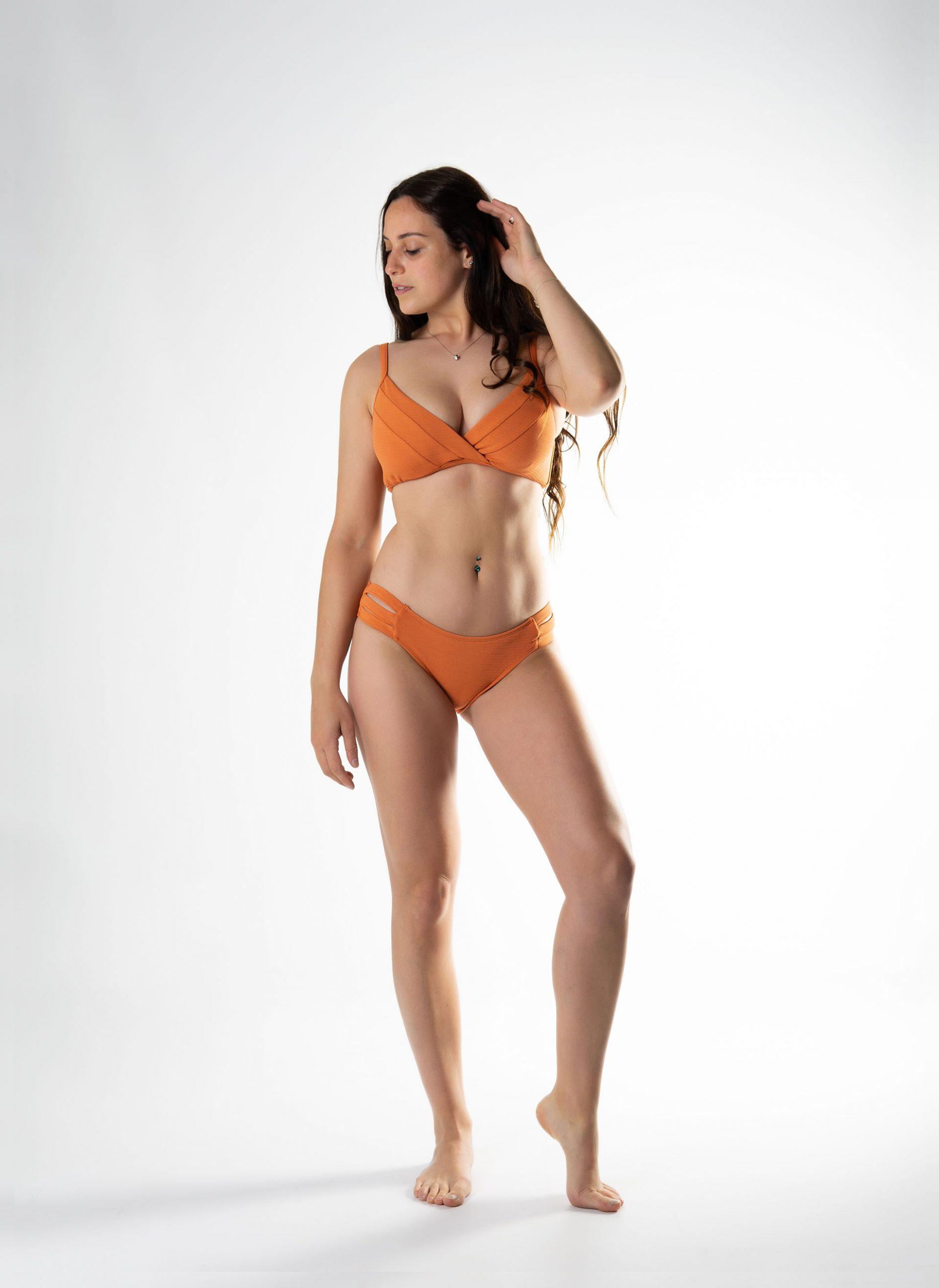 Bikini triangulo con aro copa D