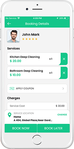 maid service app