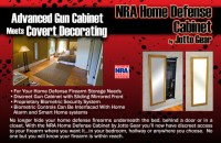 NRA Home Defense Cabinets