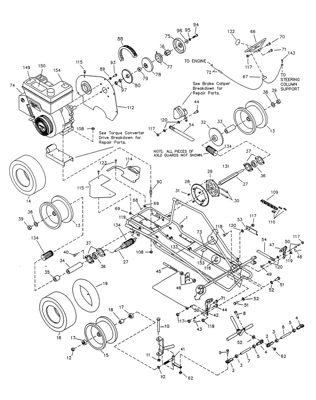 125cc Pit Bike Kick Start Wiring Diagram. Parts. Wiring