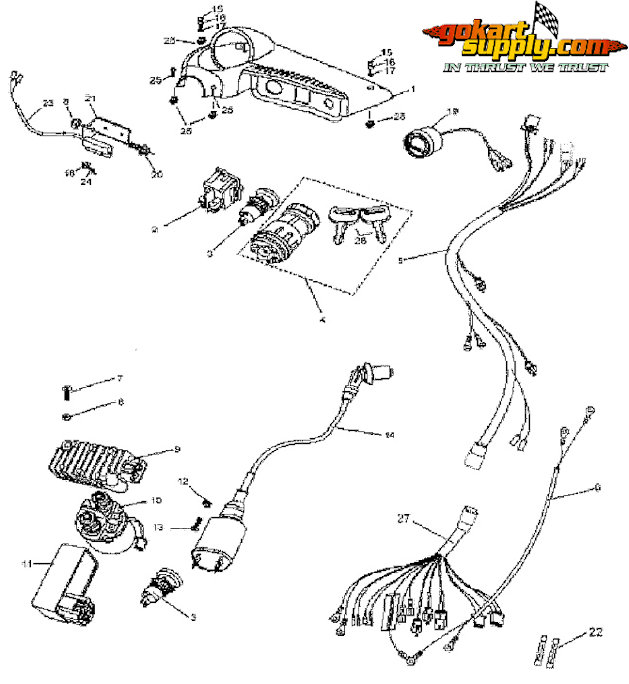 Manco Go Kart Parts Diagram. Diagram. Wiring Diagram Images