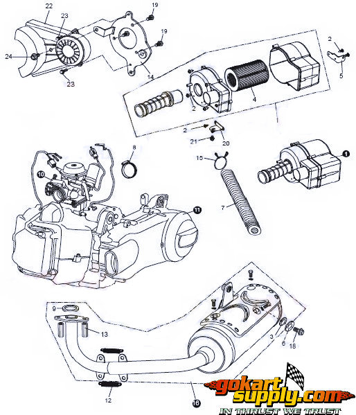 Wiring Manual PDF: 150 Go Cart Parts Wiring Diagram