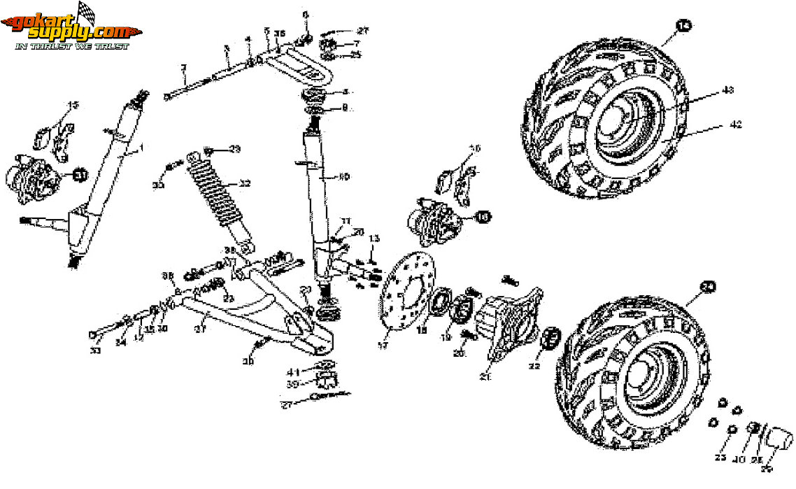 hight resolution of american sportworks 7150 quantum go kart parts diagrams