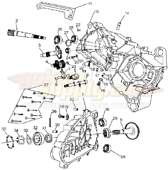 150cc Engine Diagram