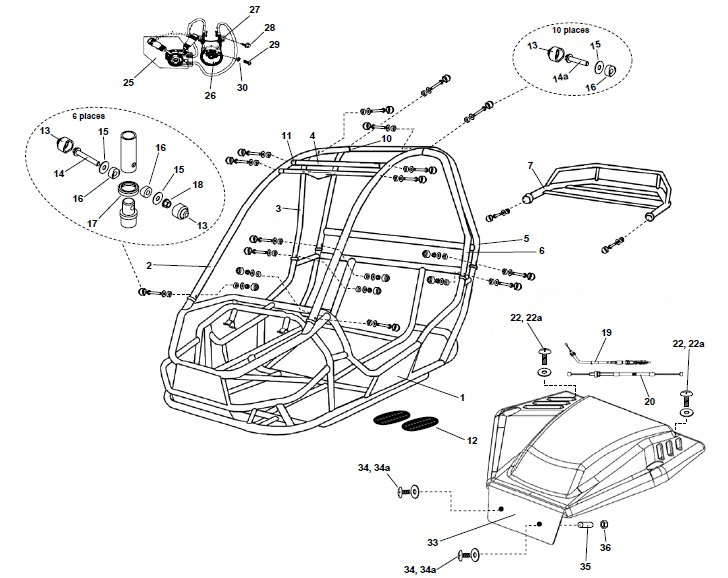 Wiring Manual PDF: 150 Go Cart Parts Wiring Diagram