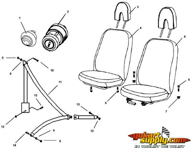 American Sportworks 5210 Marauder Parts