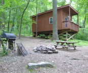 treehouse camp at maple tree