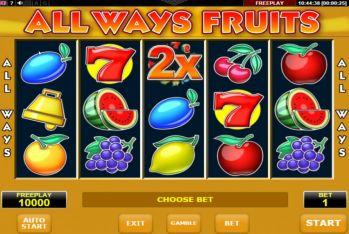 Allways Fruit Amatic Casino