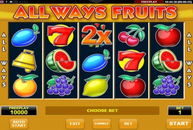 Allways Fruit Amatic Casino Gokkasten