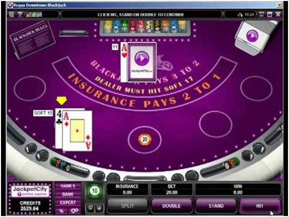 Jackpot city casino Blackjack gokkast